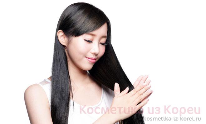 Корейская косметика против выпадения волос